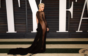 Rita Ora arrives at the 2015 Vanity Fair Oscar Party on Sunday, Feb. 22, 2015, in Beverly Hills, Calif.