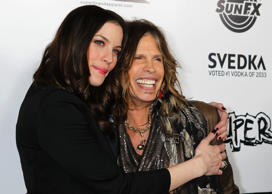 Liv Tyler with Steven Tyler