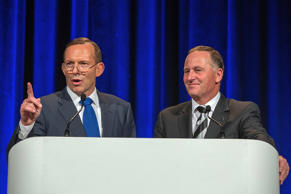 Prime Minister John Key and his Australian counterpart Tony Abbott