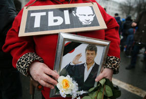 Thousands march to commemorate Boris Nemtsov