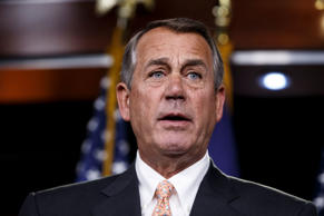 File photo of Speaker of the House John Boehner, R-Ohio.