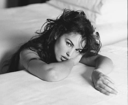 Bellucci moved to Milan in 1988, joined Elite Model Management, and walked for some of the most prestigious designers.