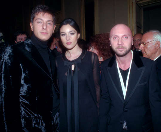 Dolce & Gabbana gave Bellucci the first break as a catwalk model. In 2012, the actor was announced as the new face of the brand.