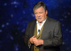"Shatner defended his decision to attend the fundraiser, tweeting the News' cover and saying ""Let's discuss it."""