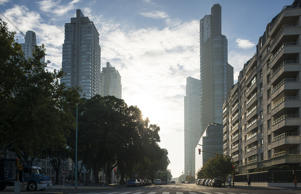 Buenos Aires, Argentina at dawn.  Cultura Travel/Ben Pipe Photography/Getty Imag...