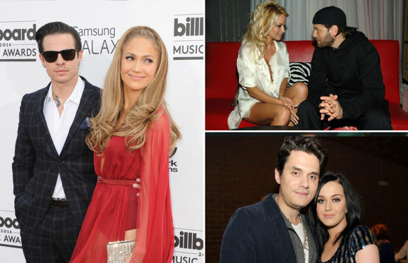 Slide 1 of 31: Celebs who married same person twice