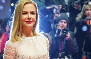 Actress Nicole Kidman arrives on the red carpet for the screening of the movie 'Queen of the Desert' at the 65th Berlinale International Film Festival.