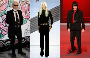 Donatella Versace's influence on the fashion industry is nothing short of legendary. As she turns 60 on May 2, we take a look back at 20 of the biggest names in the world of fashion today. From designers, models, photographers to editors, click through to find how these living legends have created history, time and again.