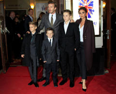 Team Beckham: David and family in pictures