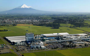 File photo of Fonterra's Whareroa processing plant near New Plymouth. There have been no reports of damage due to quake.