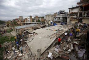 On April 25, 2015, a 7.9 magnitude earthquake hit Nepal, that was also felt in many parts of India.