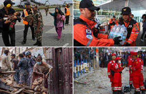 Nepal earthquake: Global rescue teams troop in