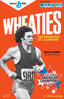 In this image released by General Mills on Wednesday, Feb. 15, 2012, decathlete Bruce Jenner is shown on the cover of Wheaties. The original Wheaties box that features Jenner is up for sale to the highest bidder on eBay after the reality star opened up to Diane Sawyer about being a transgender woman.