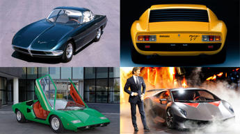 In relative terms, Lamborghini is a young company. A mere foal in a world of Italian thoroughbreds and pure pedigree. Ferrari was founded in 1929. Maserati in 1914. Alfa Romeo in 1910. Lancia, even further back, in 1906. And yet, since its inception in 1963, Lamborghini appears to have achieved more than its five decades of heritage would suggest. Sure, it can't claim an illustrious motorsport heritage, but its history is rich and intriguing. Read on to discover more about the carmaker that took the bull by the horns.