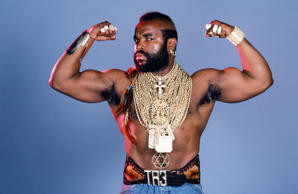 THE A-TEAM -- Season 3 -- Pictured: Mr. T as B.A. Baracus -- Photo by: Gary Null/NBC/NBCU Photo Bank
