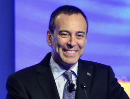 Edward Lampert, chief executive officer of Sears Holdings Corp., smiles during t...