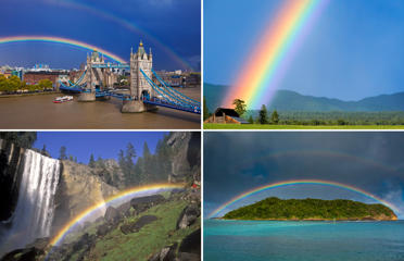 Rainbows: The best optical illusion of all time