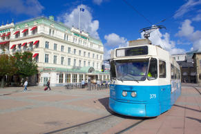 City tram in Gothenburg