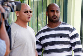 Andrew Chan, left, and Myuran Sukumaran will be taken from Kerobokan jail at midday on Wednesday and flown to Nusakambangan, the central Java island Indonesia has reserved for the executions.