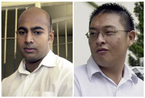 Sukumaran and Chan have been flown to an Indonesian penal island where they will face a firing squad alongside eight other drug felons.