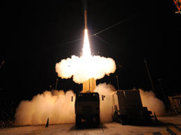 Lockeed Martin conducts a flight test of the Terminal High Altitude Area Defense (THAAD) Weapon System at the Pacific Missile Range Facility on Kauai, Hawaii.