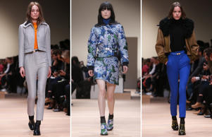 A look at Carven's Fall-Winter collection showcased at Paris Fashion Week 2015.