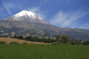 The peak of Orizaba or Citlaltepetl is the highest mountain in Mexico