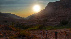 To really get up close and personal with nature, embark on the intense 16-kilometer hike through the Dana Biosphere Reserve.