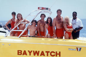 Baywatch: then and now