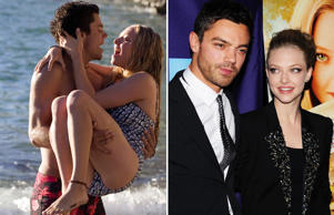 Dominic Cooper and Amanda Seyfried