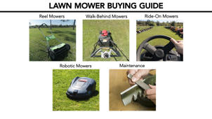 Lawn Mowers & Tractors | Buying Guide