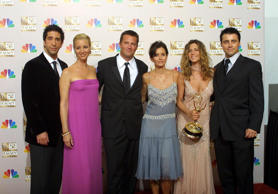 David Schwimmer, Lisa Kudrow, Matthew Perry, Courtney Cox, Jennifer Aniston, Matt Le Blanc