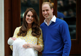 According to the official announcement from Kensington Palace, Catherine, Duchess of Cambridge, gave birth to a girl at 8.34 a.m on May 2, 2015. The baby, whose name is not yet revealed, is fourth in line to the British throne.