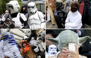 May the 4th be with you: Fans celebrate Star Wars Day