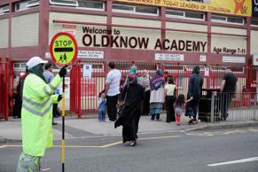 A general view of Oldknow Academy, one of the Birmingham Schools at the centre of the 'Trojan Horse' inquiry