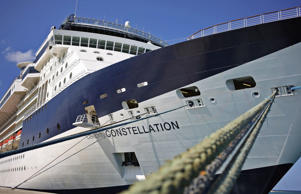 The Celebrity Constellation cruise ship in Falmouth, Jamaica, Dec. 17, 2012.