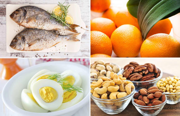 Slide 1 de 18: Vitamin-rich foods to help you get through winter