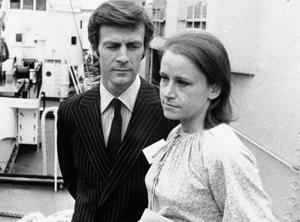Sir Ranulph Fiennes with his wife Virginia.