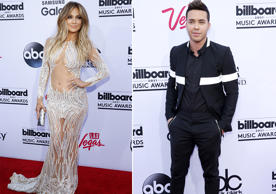 Latinos arrasan en la alfombra roja de los Billboard Music Awards