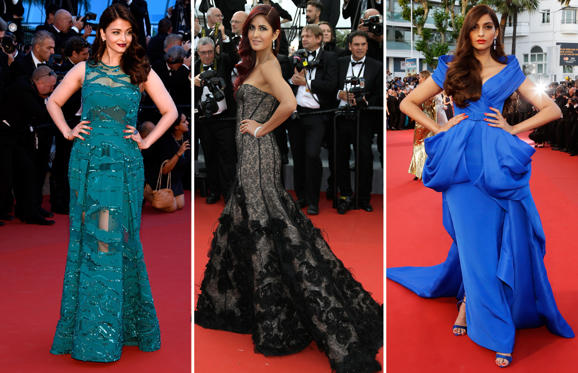 Slide 1 of 33: Every year at the prestigious Cannes Film Festival, a bevy of celebrities from the Indian film industry make their presence felt. Click through as we take a look at some of the best appearances over the years.