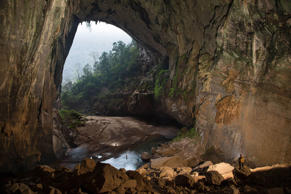 Son Doong cave at the Phong Nha Ke Bang National Park, Vietnam. Ryan Deboodt/Solent News/REX