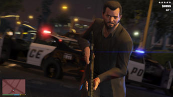 "This publicity photo released by Rockstar Games shows a screen shot from the video game, ""Grand Theft Auto V."""