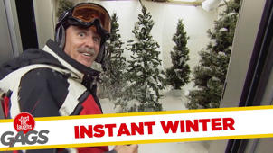 Instant Winter Prank - Throwback Thursday