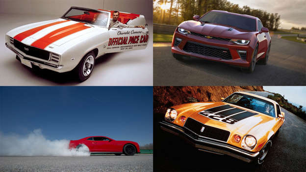 The history of the Chevrolet Camaro in pictures