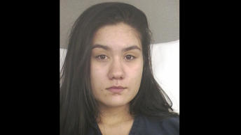 Booking photo for Kayla Mendoza.