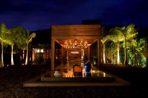 The exterior of the W Retreat and Spa in Vieques, Puerto Rico.