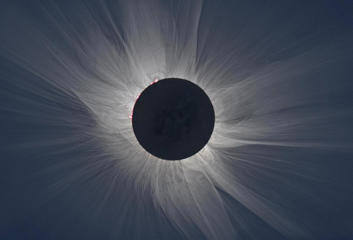 A team of scientists braved Arctic weather to successfully observe the total solar eclipse of March 20, 2015 from Longyearbyen on the island of Spitsbergen in the Svalbard archipelago east of northern Greenland.