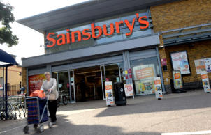 Sainsbury's slumps to £72m loss as sales fall
