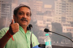 File: Union Defence Minister Manohar Parrikar