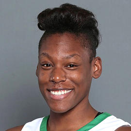 Eboniey Jeter of the North Texas women's basketball team.